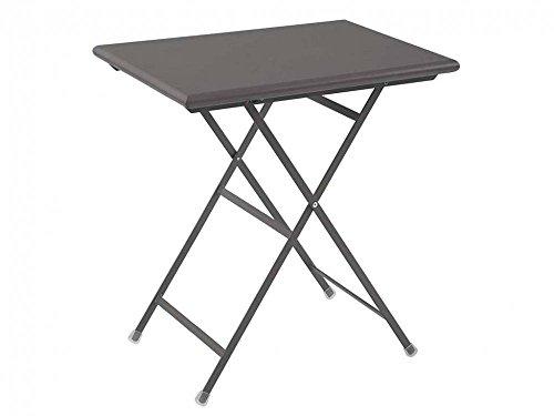 tavolo da giardino emu Emu - Tavolo Pieghevole Arc En Ciel 70 x 50 Ferro Antico 334 EMU