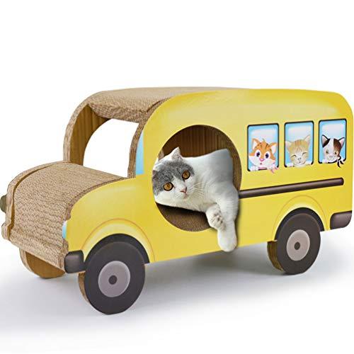 XXDYF Kratzbrett Pappe Katze Kratzlounge Kratzmöbel Kratzbett Kleintransporter Design Katzenspielzeug Kratzmöbel Kratzmatte Kratzbretter Wellpappe,C