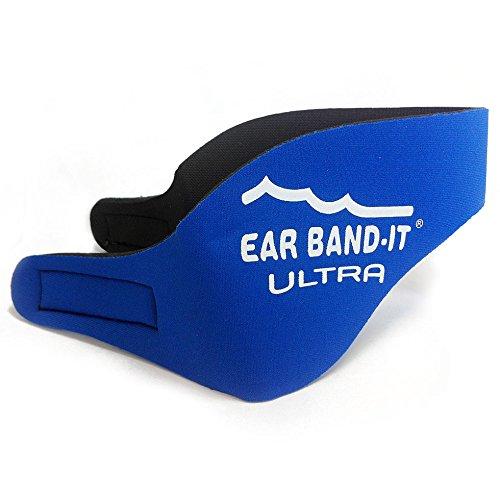 Ear Band-It Ohrenschützer für Schwimmen, blau (True Blue), Medium (4 - 9 years)