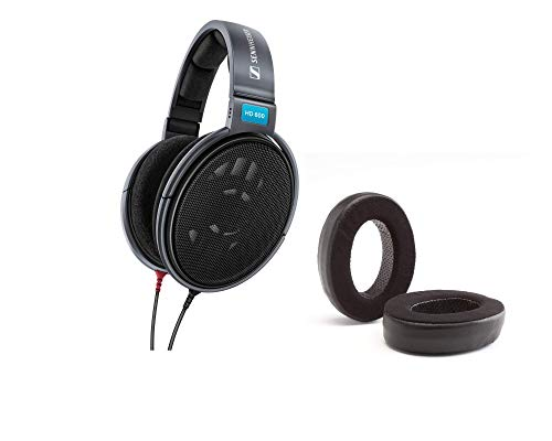 Digital DJ Gear Bundle for Sennheiser HD600 Headphones w/Dekoni Audio Elite Hybrid Ear Pads