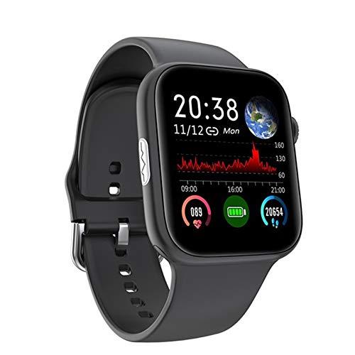 LDJ SE03 Sports Sports Smart Watch ECG + PPG Ritmo Cardíaco Smart Watch Fitness Tracker Moda para Hombres Y Relojes para Mujeres para Android iOS,B