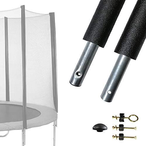 Kangui Un Poteau de Filet de sécurité Ø25mm Universel (Fixation réglable) pour Trampolines de...