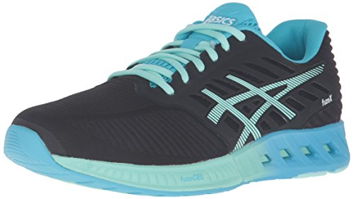 ASICS Damen fuzeX, Black/Mint/Aquarium, 36.5 EU