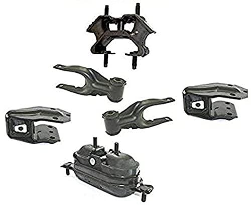 Engine and Transmission Mounts 6pc Kit for Chevrolet Impala 3.5L 2006-2011