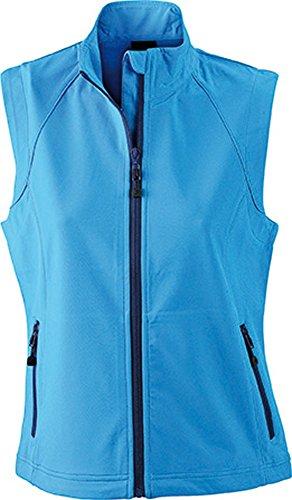 JN1023 Ladies' Softshell Vest Modische Softshellweste, Größe:XXL;Farbe:RED