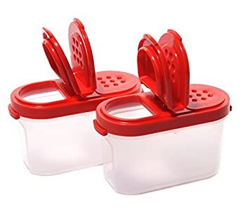 Tupperware Modular Spice Shaker Small - Set of Two Small Shakers