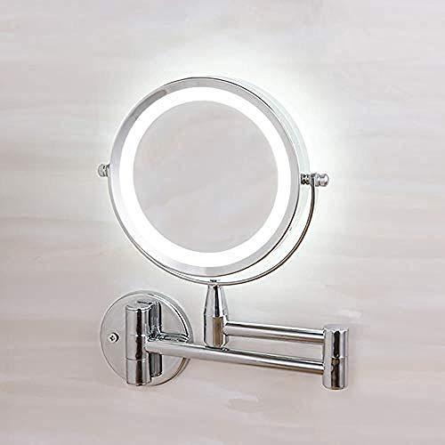 Générique Miroir de Maquillage Miroir de Maquillage Grossissement 3 Fois Grossissement des Deux côtés sur 360 °