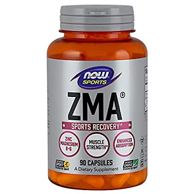 Now Sports Nutrition, ZMA (Zinc, Magnesium and Vitamin B-6)