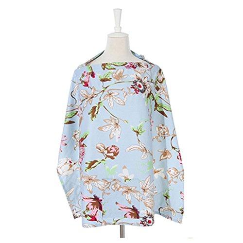 100%coton Classy Nursing Cover large couverture allaitement Tablier infirmiers Q