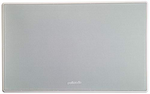 Polk Audio 255C-RT 2-way In-Wall Center Channel Speaker - The Vanishing Series, Easily Fits into the Wall, High-performance Audio, With Power Port and Paintable Wafer-Thin Sheer Grille (Renewed)