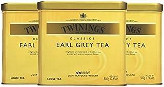 Twinings Earl Grey Tea, 500g Dose 3er Pack