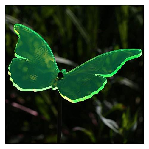 Bütic GmbH Plexiglas® Sonnenfänger Schmetterling 14cm neon transparent fluoreszierend, Farbe:neongrün