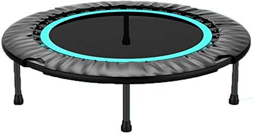 QIANSHI Umweltfreundliche Materialien Trampolin Erwachsene Sport Trampolin Indoor Faltbare Fitness Mini-Trampolin Bearing 200kg Mehr Funktionen, mehr Spaß und sicherer