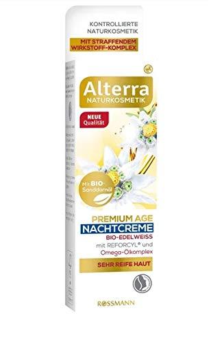 Alterra Nachtcreme Premium Age Bio-Edelweiß 50 ml