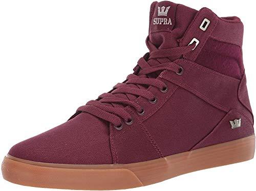 Supra Herren Aluminum Hohe Sneaker, Rot (Wine-Gum-M 632), 42.5 EU
