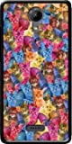 Mobilinnov Wiko Ufeel Lite Haribo Chat en Folie Silikon Hülle Handyhülle Schutzhülle - Zubehor Etui Smartphone Wiko Ufeel Lite Accessoires