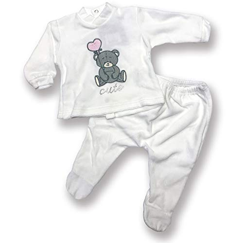 Character World Abbigliamento-Pigiama Ensemble De Pyjama, Beige (Panna), 58 (Taille Fabricant: X-Small) Bébé garçon