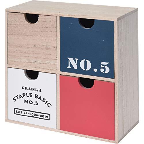 Boîte de rangement en bois Quelle Accessoires Trinkets objets Bijoux Office Home