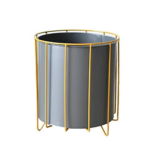 XYJNN Maceteros-macetas Balcon Soporte De Planta De Metal | Soporte De Maceta De Hierro | Muebles Domésticos | Balcón (Color : Blue, Size : 24x27cm)