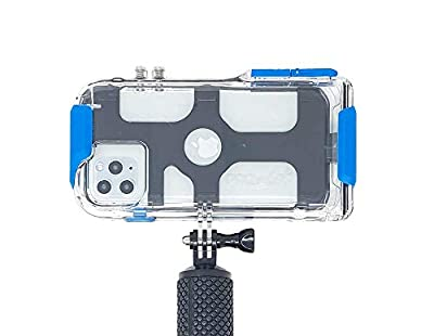 ProShot Touch - Waterproof Case Compatible with iPhone 11 Pro Max, iPhone XR, iPhone 11, iPhone Xs Max and Compatible with All GoPro Mounts from Laso Technologies