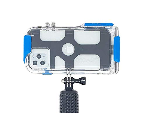 ProShot Touch - Waterproof Case Compatible with iPhone 11 Pro Max, iPhone XR, iPhone 11, iPhone Xs Max and Compatible with All GoPro Mounts (12-Month Protection Plan for Your iPhone)