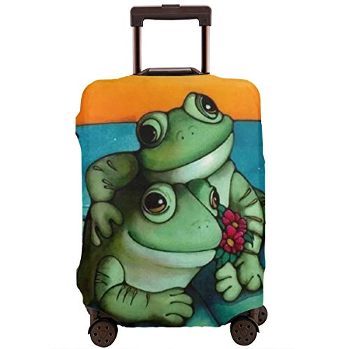 Protective Suitcase Cover Frog Artwork Free Download Clip Art Travel Suitcase Protector L