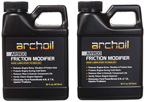 Archoil AR9100 Friction Modifier Value Pack - Two 16oz Bottles of AR9100 for Two Powerstroke Treatments