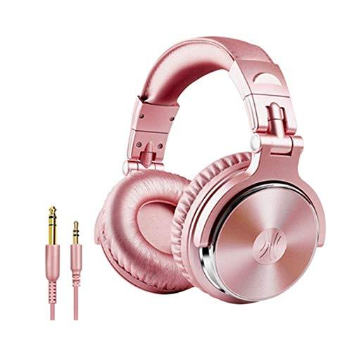 Zhangmeiren Suppresseur De Bruit Casque Tambours Batterie Électronique Polyvalent Casques De Contrôle (Color : Pink)