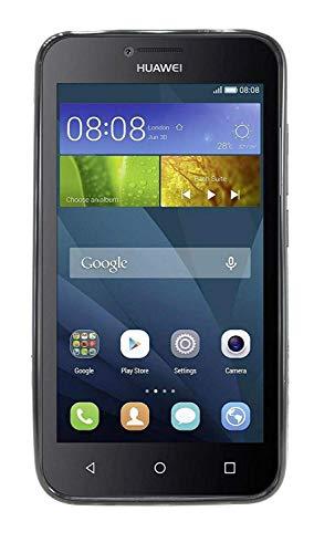 ENERGMiX Silikon Hülle S-Line kompatibel mit Huawei Y560 Tasche Case Zubehör Schale in Schwarz - 2