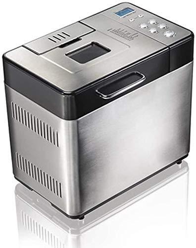 Automatische Brotbackmaschine - Anfänger freundlich Programmierbare Brot-Hersteller (19 Programme, 3 Shell-Farben, 15 Stunden Reservierung) - Multifunktionsbackautomaten fangkai77