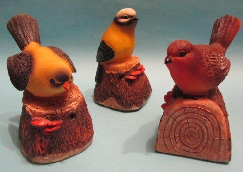 Oiseau décoratif à détecteur de mouvements