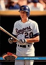 1991 Stadium Club #580 Jeff Kunkel MLB Baseball Trading Card