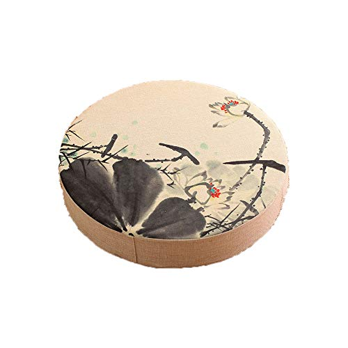 Newgreeny Cojín del Tatami del Futón del Cojín del Hogar