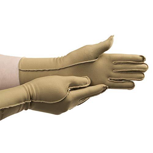 isotoner Therapeutic Gloves, Pair, Full Finger, Medium