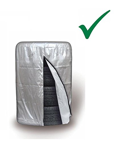 PRAKTISCHE AUFBEWAHRUNGSTASCHE FÜR 1 SATZ REIFEN 13 14 15 16 Zoll Reifen Schutzhülle Reifen Abdeckung Reifentasche