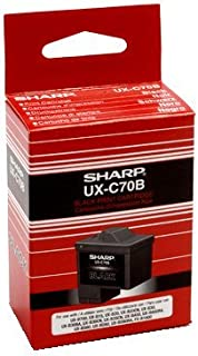Sharp UX-C70B Inkjet Cartridge, Black