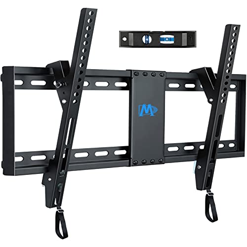 Mounting Dream UL Listed TV Mount for Most 37-70 Inches TVs, Universal Tilt TV Wall Mount Fits 16', 18', 24' Studs with Loading 132 lbs & Max VESA 600x400mm, Low Profile Wall Mount Bracket MD2268-LK
