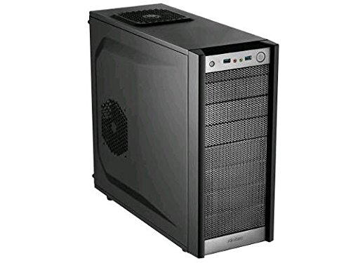 Antec Performance Series P7 Silent Mid-Tower PC Computer Case with Sound Dampening Panel, Rear/Front 120mm Fans x 2 Pre-Installed, 120/140mm Fan Mounts, Max 280mm Liquid Cooling ATX/M-ATX/Mini-ITX, Black