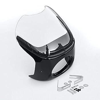 round headlight fairing