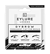Patch test required Up to 12 applications Eyebrow Dye Kit Dark Glossy Brows up to 45 Days Easy and safe to use