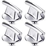 4 Pack Surface Burner Knob Compatible with Maytag, Replace for PS2375886, AP5670739,7737P245-60,EAP2375886