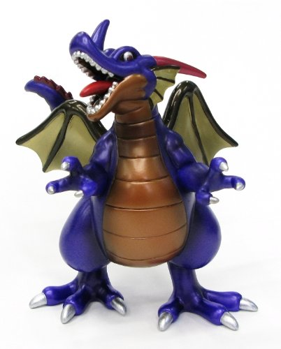 Dragon Quest Sofubi Monster 001 - Ryuou Limited Metallic Version