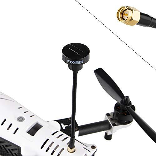 FPV Antenne: Foxeer Pagoda Pro SMA Male Antenne 5.8G 150mm Drone-TX RX Antenne für FPV Brille RHCP Cloverleaf Antenne Schwarz