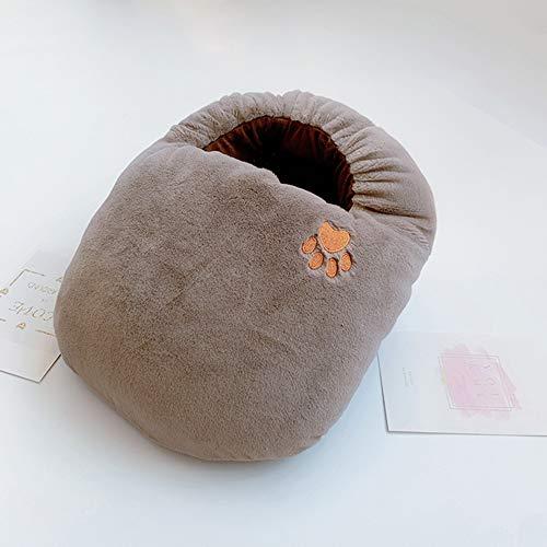 CYYMY Fußwärmer Kissen USB Elektrische Heizung für Winter Büro Heizung Hausschuhe Schuhe Lindern Wundtherapie 5V,Rosa