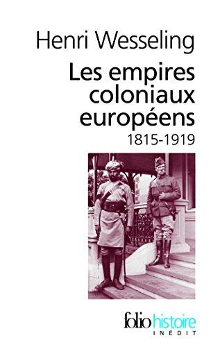 Les empires coloniaux européens, 1815-1919