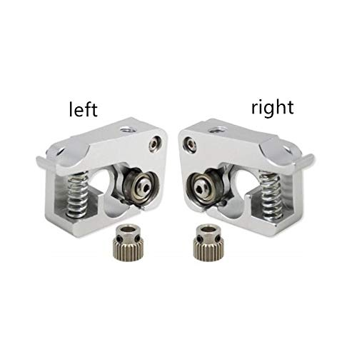 HUANRUOBAIHUO Left or Right 1.75mm MK10 Extruder Hand Arm Full Metal for Bowden 3D Printer parts for Makerbot Replicator 2 Aluminum Part Extrusion Extruders Components (Size : Right)