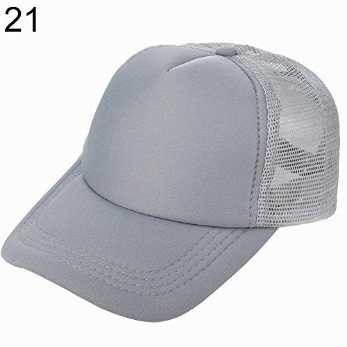 Display08, Cappello da Baseball Regolabile, Unisex, per Sport all'Aria Aperta, Tennis, Golf, Retina Stile: 2 Grigio