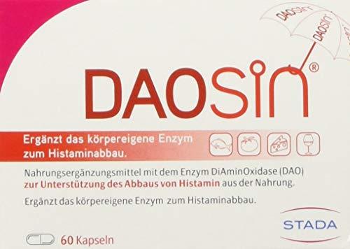 DAOSiN - magensaftresistente Kapseln mit Diaminoxidase Enzym - 1 x 60 Kapseln