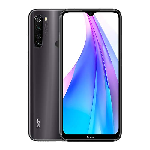 "Xiaomi Redmi Note 8T Teléfono, 3GB RAM 32GB ROM Smartphone, 6.3"" Pantalla Snapdragon 665 Móvil 48MP Quad Rear Camera(NFC),Versión Global (Gris)"