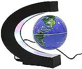 Globo terráqueo Flotante, Globo terráqueo de levitación magnética para educación, decoración de Escritorio para el hogar/Oficina, Regalo de cumpleaños para niños, B